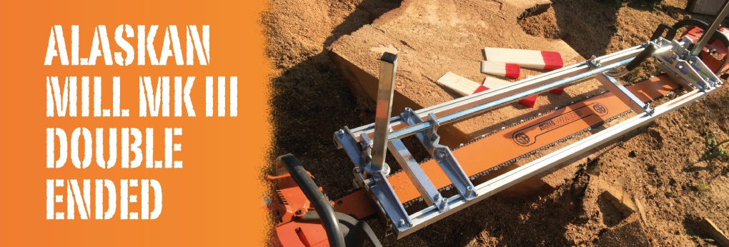 Alaskan Mill – Mobile chainsaw mills Double Ended milling kits