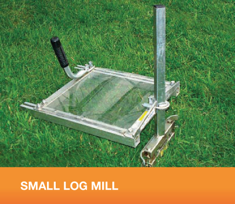 Small log mill for Mill log
