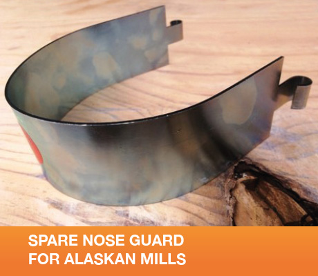 SPARE NOSE GUARD FOR ALASKAN MILLS
