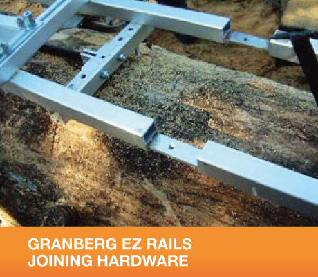 GRANBERG EZ RAILS JOINING HARDWARE