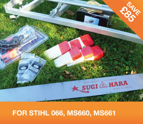 "36"" MILLING KIT with 42"" Sugihara bar – STIHL 066, MS660, MS661"