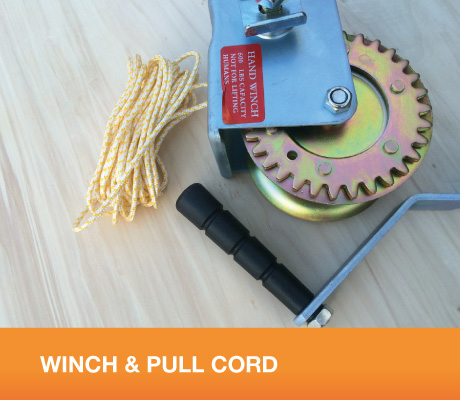 WINCH & PULL CORD