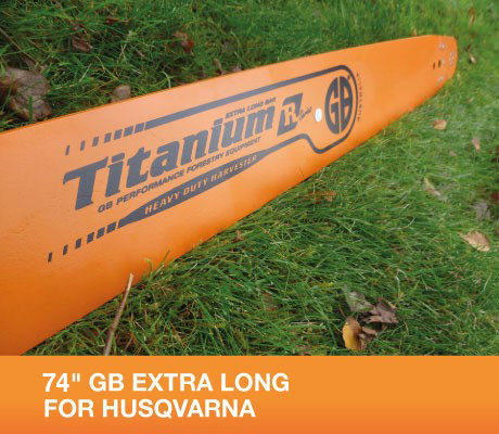 "HS84-63RQ 84"" GB Extra Long Bar For Husqvarna 2100, 2101, 3120XP Part Number HS84-63RQ"
