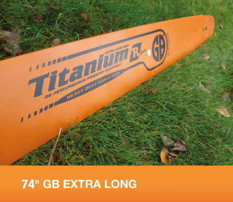 """HS84-63RQ 84"""" GB Extra Long Bar For Stihl 050, 051, 070, 075, 076, 08, 090, 088, MS880 Part Number HS84-63RQ"""