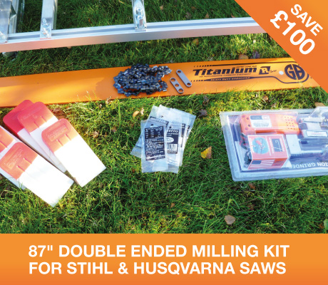 """A84-GB98 98"""" Double Ended Milling Kit For Stihl & Husqvarna Saws"""