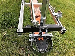 """HU-SNHL36-50WR-Kit 36"""" Lo Pro Milling Kit 36"""" Lo Pro GB Bar 365XP, 372XP, 575XP, 576XP, 385XP, 390XP, 394XP, 395XP 3/8 Lo Pro .050 114 drive links"""