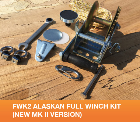 FWK2 Alaskan Full Winch Kit (New Mk II version)