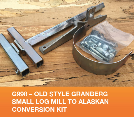 G998 - Old Style Granberg Small Log Mill to Alaskan Conversion Kit