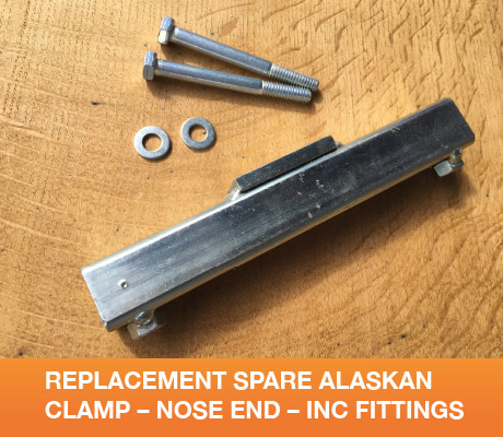 REPLACEMENT SPARE ALASKAN CLAMP NOSE END INC FITTINGS