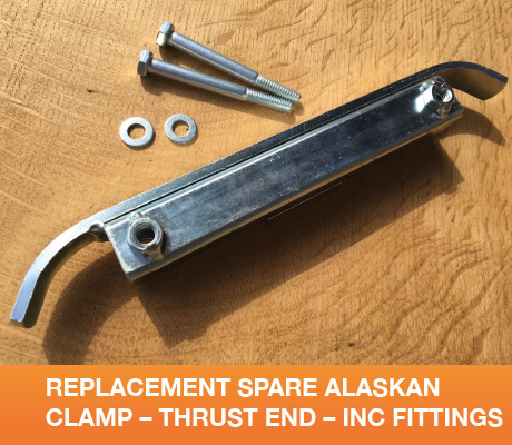 REPLACEMENT SPARE ALASKAN CLAMP THRUST END INC FITTINGS