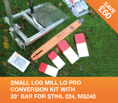 SMALL-LOG-MILL-LO-PRO-CONVERSION-KIT-WITH-20in-BAR-FOR-STIHL-024-MS240