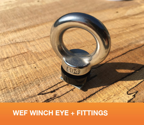 WEF Winch Eye + Fittings